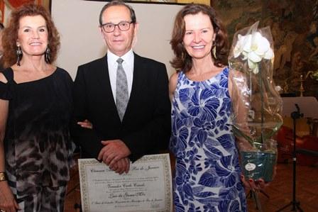 Maria Eduarda Leitão,Luiz e Rosane Mór