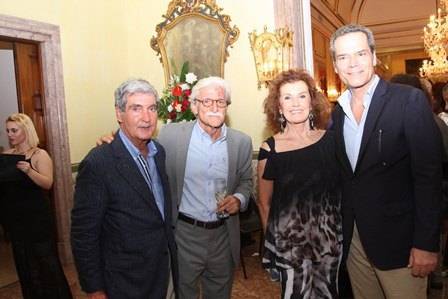 Sergio Costa e Silva,Paulo Alberto Soares e Maria Eduarda Leitão ,Jaime Van Zeller
