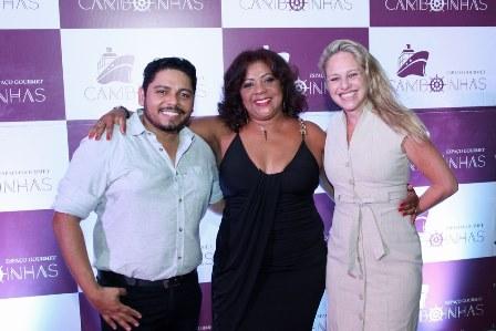 Walther Class, Rose Salles e Fernanda Brasil