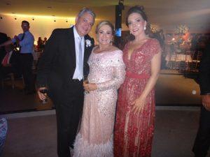 Alexandre e Ana Cristina Moreira com Elisangela Lima