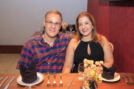 Alexandre e Synthia Ottan