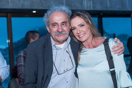 Ancelmo Goes e Marcia Verissimo