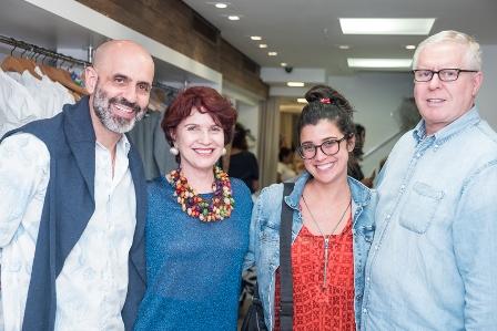 Claudio Gomes Ana Laura Cunha Julia Cunha  e Robert Forrest