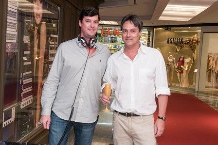 DJ Lúcio Pereira e Pedro Garrido