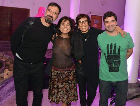 Roberto Guimarães ,  Marcia Dias ,  Vilma Lustosa  e Eduardo Rieche