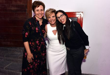 Patrícia Selonk , Tânia Pires e Karen Acioly  - FESTILIP 2017 - Dezembro 2017 - Foto CG