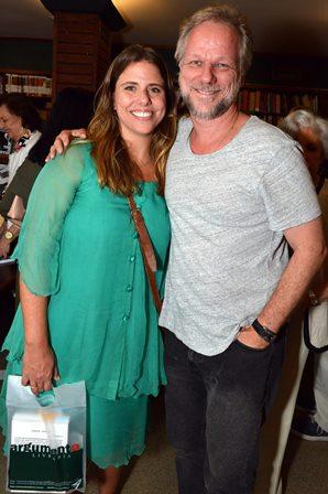 Julia  de Almeida Magalhães e  Richard Kleven