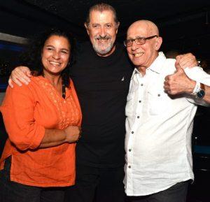 Telma Tavares , Mauro Marcondes e Zé Jorge