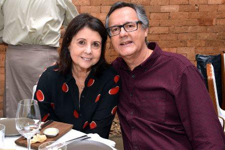 Alice Tapajós  e Paulo Roberto Direito