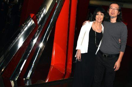 Denise Mattar e Gianni Toyota