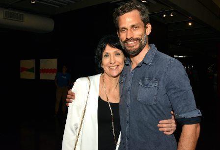 Denise Mattar e seu filho Gabriel Matar