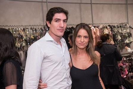 Eduardo Amaral e Carla Franco