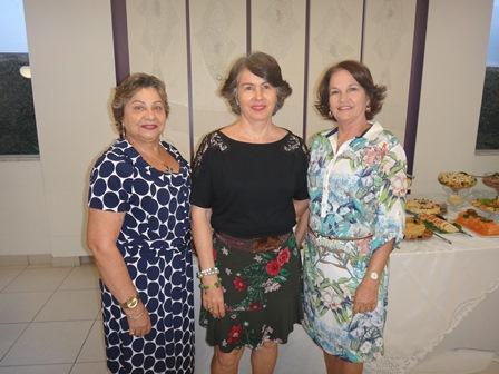 Graça Gonçalves, Tereza Araújo e Sueli Moreira