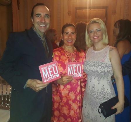 Helcio Hime, Alice Tamborindeguy e Camila Carvalho