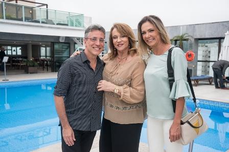 Henrique Vieira Filho Regina Portugal e Marcia Verissimo