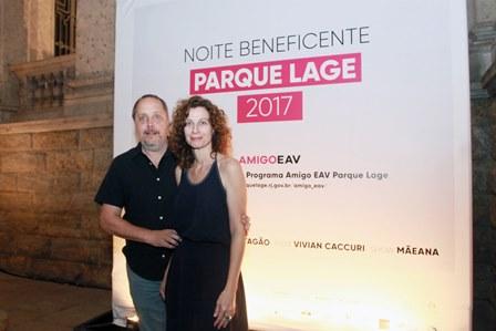 Barrao e Marta Jourdan