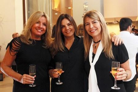 Mônica Ricci, Dinorah Yazeji e Mônica Dias