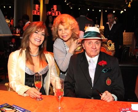 Iara Osório,Lala Gutenberg e Jeff Thomas