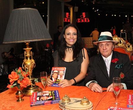 Karina duque Estrada e Jeff Thomas