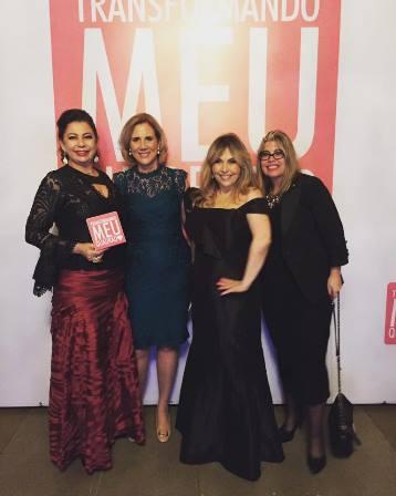 Kristhel Byancco, Sylvia Crivella, Eliana Ovalle e Georgiana Guinle
