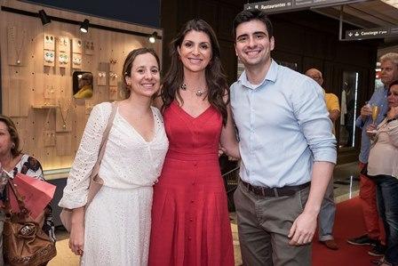 Luiza Lemgruber Isabelle Bahia e Vincius Enne