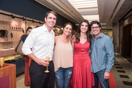 Marcus Werner e Antonia Tocantis Isabelle Bahia e Beto Bahia