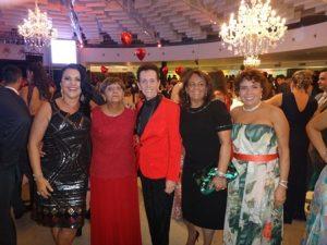 Ozana Barreto, Dilzete Martins Rocha Oliveira, Ailton Pitombo, Silvia Martins Mascarenhas e Ivonilde Oliveira Martins
