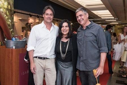 Pedro Garrido Eloysa Simao e Toni Oliveira