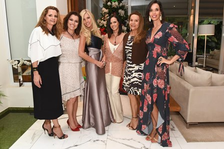 Priscila Bentes, Carla Baroncini, Ale Campiglia, Emar Batalha, Jessia Lobo e Melissa Oliveira