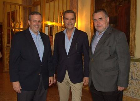 Antonio Jorge, Jaime Van Zeller e Claudio Magnavita