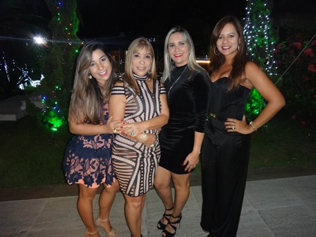 Renata Silva Lucas, Luci Silva, Aylla guimarães e Silvia Oliveira