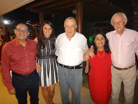 Roberto e Andrea Tourinho, Sebastião e Cinira Soares, José Carlos Pedreira