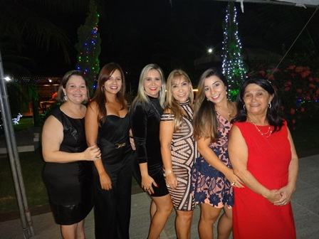Rosa Helena, Silvia Oliveira, Ayala Guimarães, Luci Silva, Renata Lucas e Cinira Soares