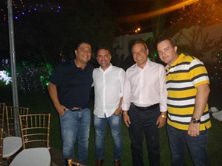 Sebastião Soares Filho, Dario Mascarenhas Filho, Carlos Augusto Silva e João Lucas