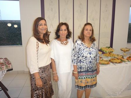 Suzana Barreto Oliveira, Eliana Carvalho Lima e Ieda Sampaio