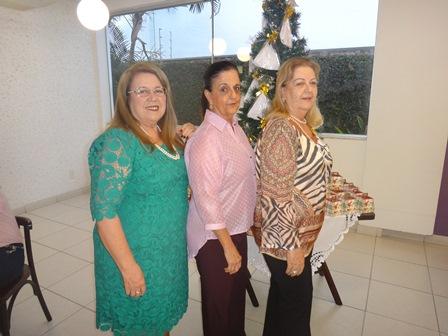 Yara Portugal Lima e Cruz, Célia Cerqueira e Maria Aparecida Kruschewski