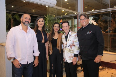 Ana Libia Sampaio, Veronica Dumar, Ailton Pitombo e Iran Vivas