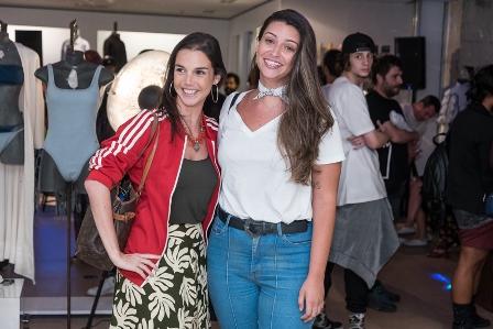 Roberta Castello Branco e Juliana Peluzzo