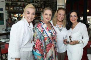 Vera Bangel, Cristina Aboim, Suely Lobo Lima e Liliana Rodriguez