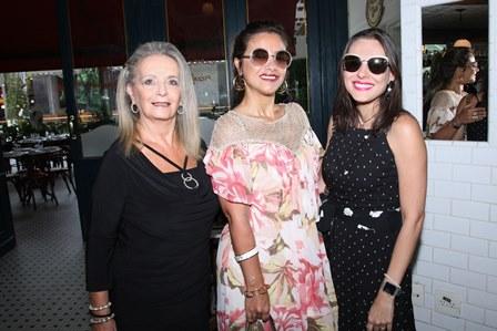 Hind Gazale Develly, Ana Teresa Patrão e Alina Donato