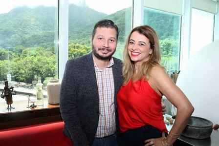 Claudio Diniz e Paloma Hasse