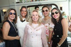 Dirce Mota, Bia Bottini, Viviane Cohen, Ana Teresa Patrão e Alina Donato
