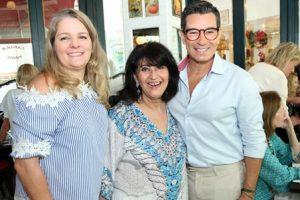 Claudia Jannuzzi, Micheline Thomé e Marcelo Hicho