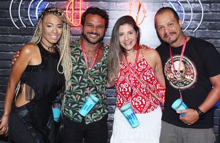 Juliana Diniz, Clarisse Nogueira, Pedrinho Salomão e Rafael Teixeira