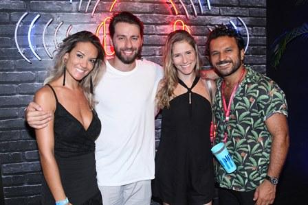 Aline Storchi,Pedro Beloniel, Marilia e Pedro Salomão