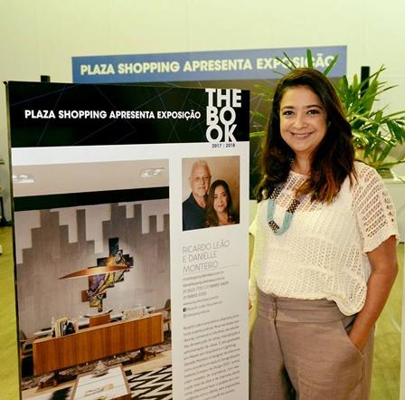 A expositora Danielle Monteiro