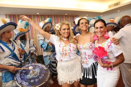 Ariadne Coelho, Lene Devictor e Beth Pinto Guimaraes