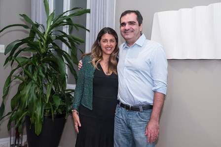 Bianca da Hora e Jose Vieira