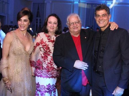 Christiane Torlomi, Beth e Carlos Serpa e Eduardo Moscovis