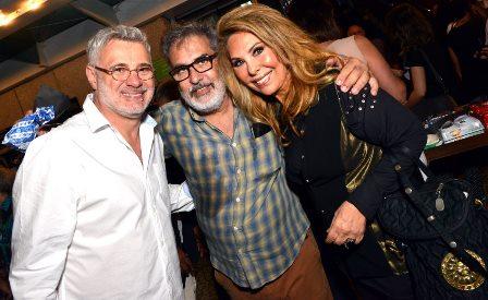 Tadeu Aguiar , Luis Villarino e Therezinha Sodré